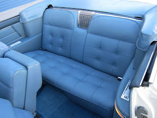 1963 Cadillac DeVille Convertible Seat Rear