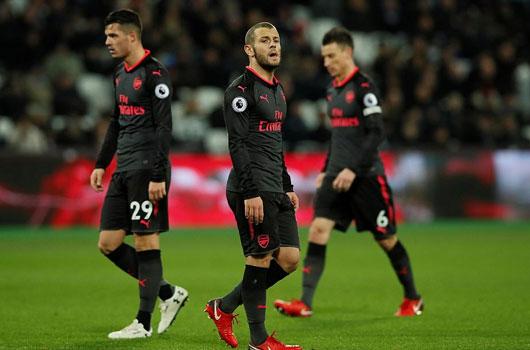 Gây thất vọng, Arsenal bị đánh bật khỏi top 6 1