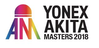 Jadwal Akita Masters 2018