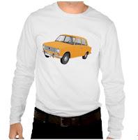VAZ-2101 Lada 1200 t-shirts tröja skjorta orange