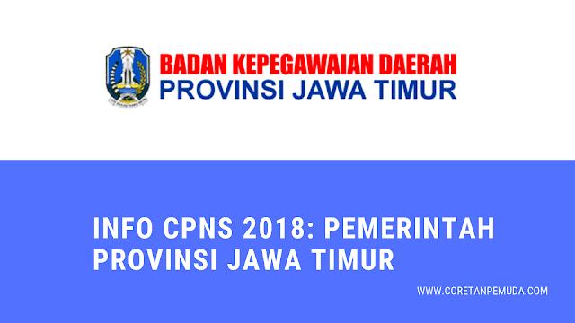 Pengumuman Hasil Tes CAT SKD CPNS 2018 Pemprov Jawa Timur - BKD Jatim