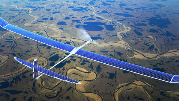 google project titan memanfaatkan pesawat drone untuk menyebarkan internet ke seluruh dunia