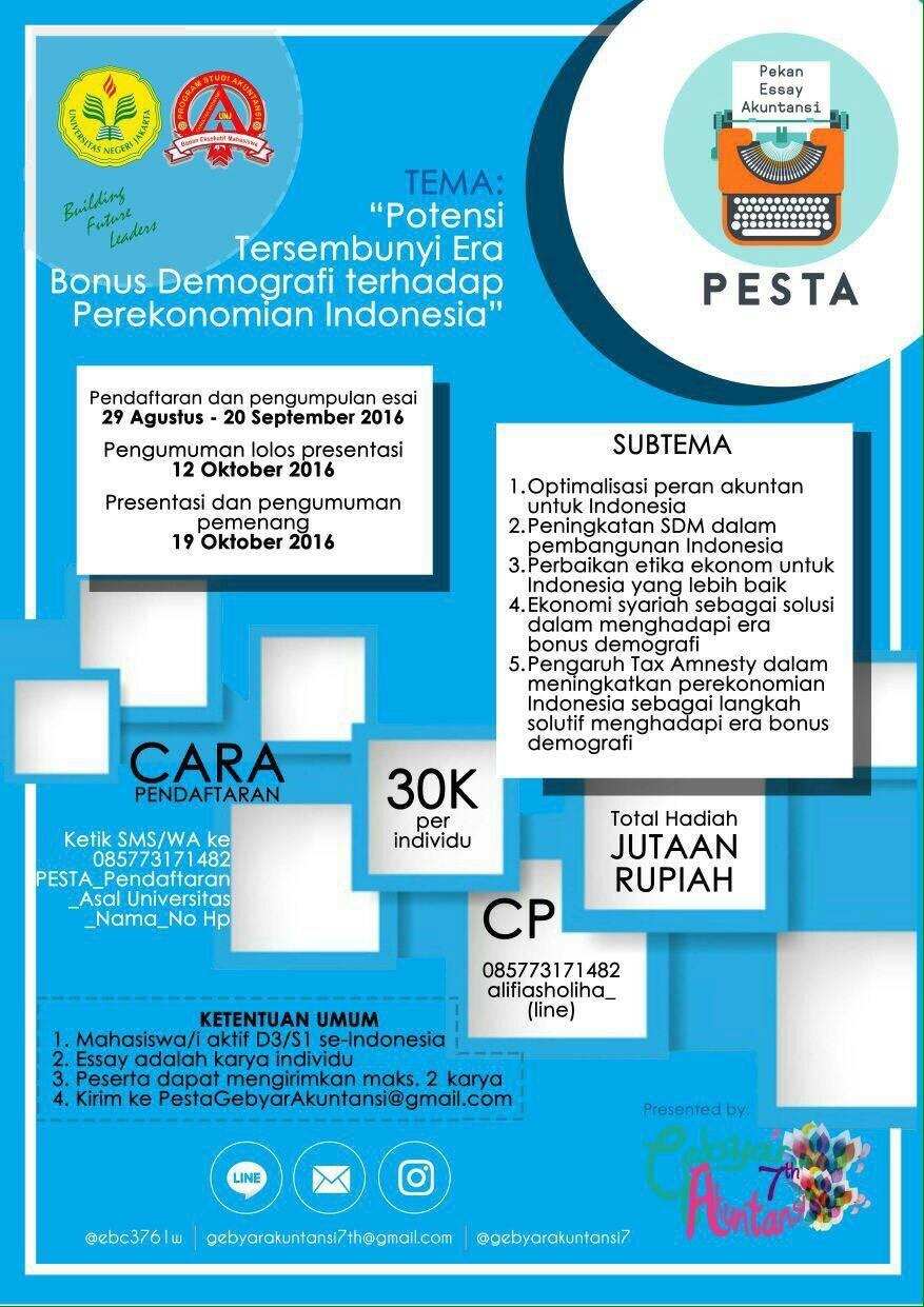 essay perekonomian indonesia