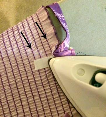 ironing on straps