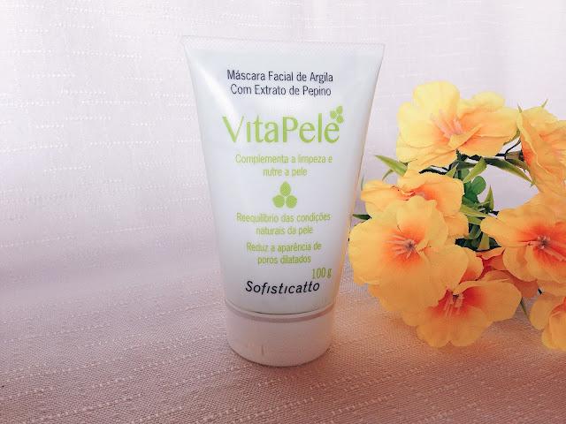 Resenha | Linha VitaPele cuidado facial - Sofisticatto Cosméticos.