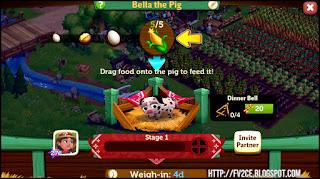 FarmVille 2: Country Escape,speckled pig, corn, eggs, farm land