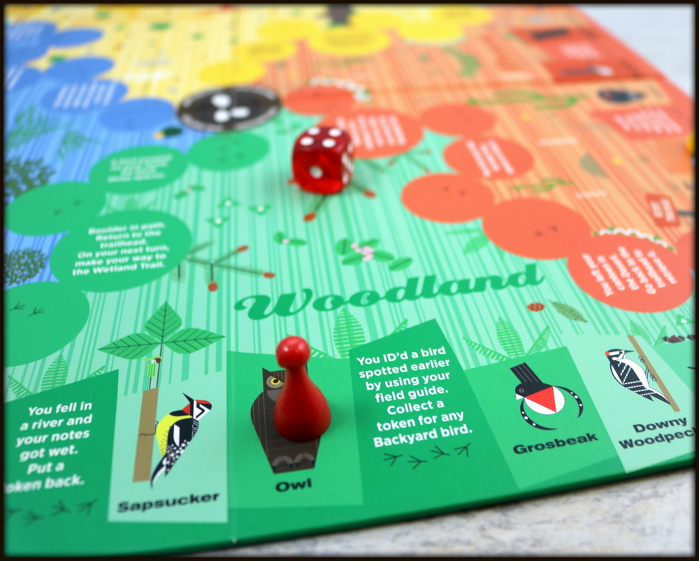 Quick Look: Charley Harper's Spot the Birds Board Game - The Board