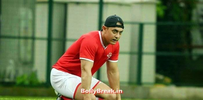 Aamir Khan, Bollywood Celebs play football match for Aamir khan's daughter Ira Khan