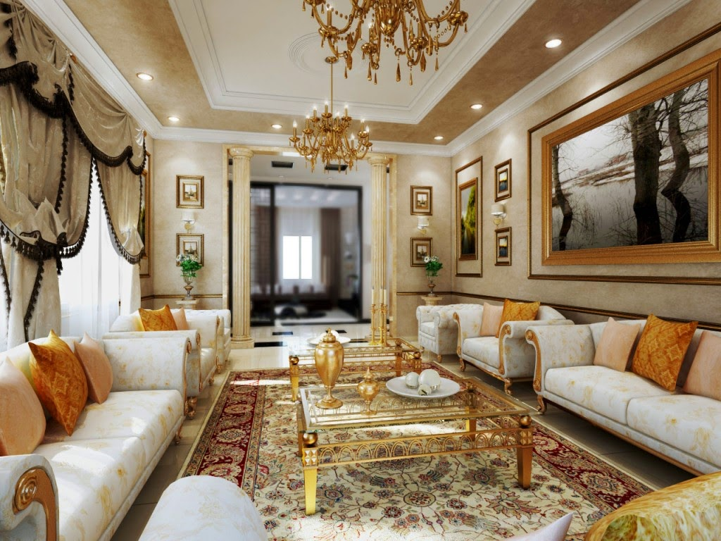 Referensi Desain Interior Rumah Gaya Eropa Yang Klasik Dan Elegan