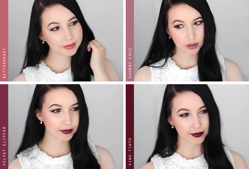 Sleek Makeup matte me liquid lipstick swatches review