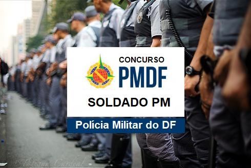 edital Concurso da Polícia Militar do DF Soldado PMDF