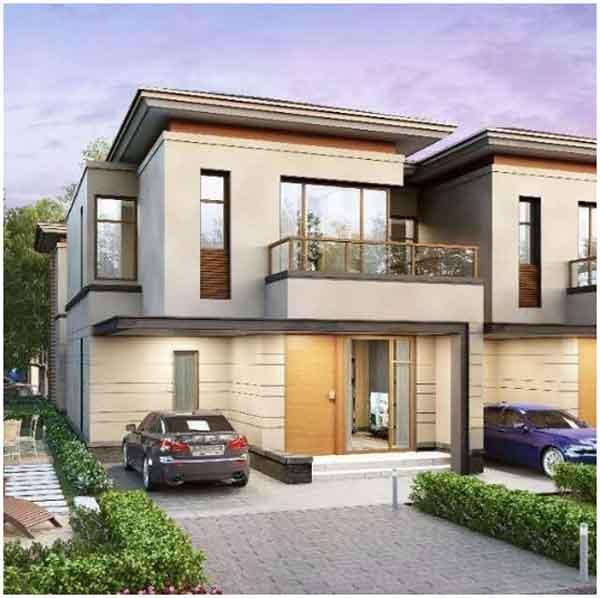 desain rumah minimalis 2 lantai ala eropa
