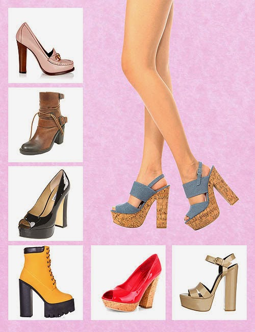 Sepatu High Heels Trend 2015