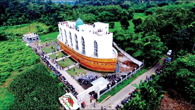 Desain Bangunan Masjid Kapal Nabi Nuh Yang Ada Semarang