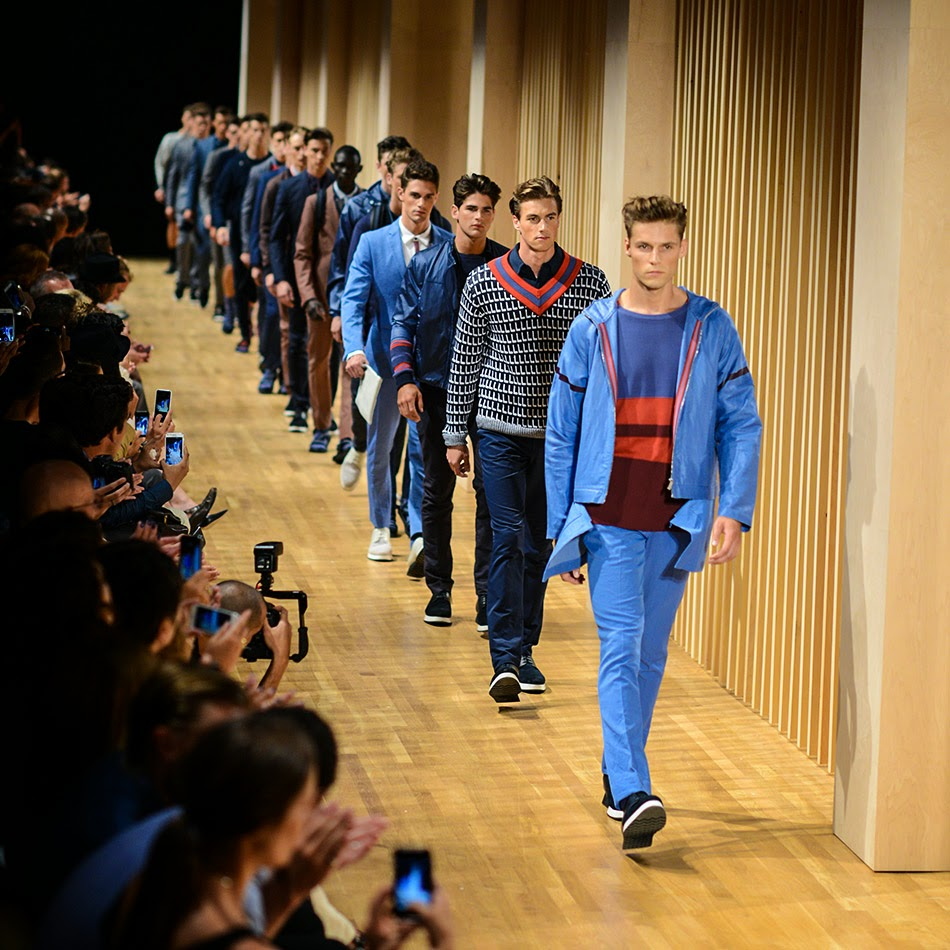 6d63e4680 The Perry Ellis Spring Summer 2015 debut at New York Fashion Week did not  disappoint. Michael Maccari successfully put a fresh spin on the classic  Perry ...