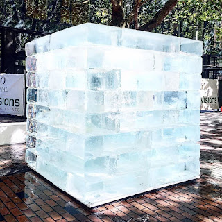 Image result for giant ice cube structure seattle