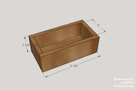 Pneumatic Addict Counter Top Storage Drawer Building Plans