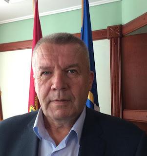 Wladimir Tschepurnoi, Bürgermeister von Berdjansk. Fot. Paul Flückiger. Ukraine