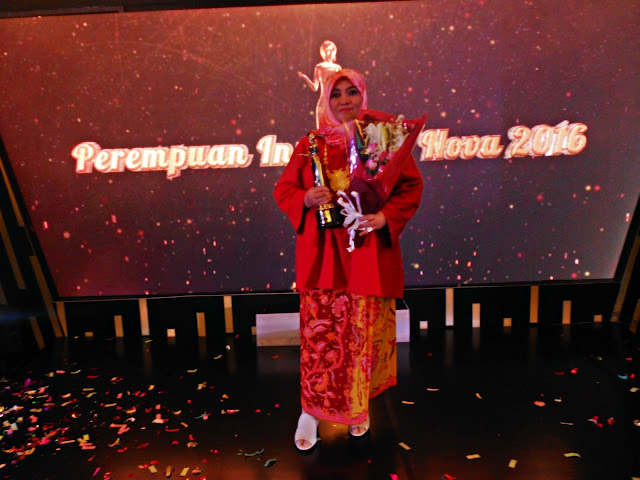 Aliya Nurlela, Terpilih Sebagai Perempuan Inspiratif NOVA 2016 Kategori Perempuan & Seni Budaya
