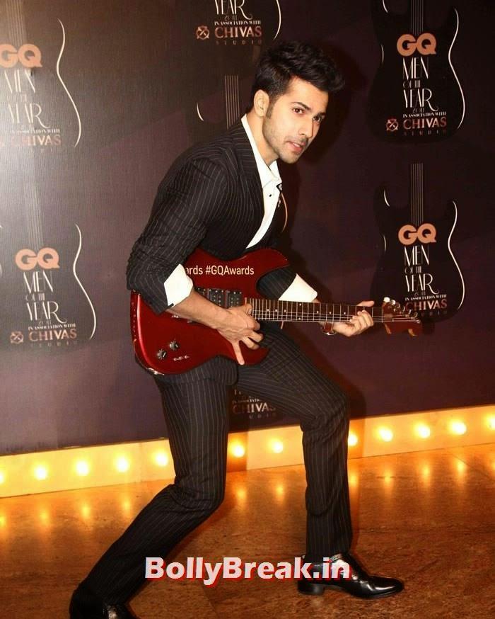 Varun Dhawan, Red Carpet Pics of GQ Men Of The Year Awards 2014