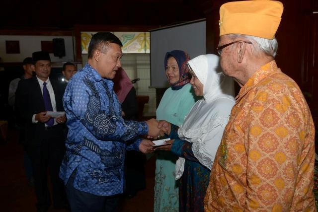 Plt Gubernur Aceh Soedarmo Temu Ramah Dengan Keluarga Pahlawan