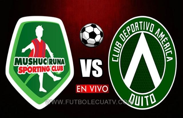 Mushuc Runa choca ante América en vivo ⚽ desde las 11:30 horario local prosiguiendo la fecha 16 de la Liga Pro 🏆 a realizarse en el Estadio de Echaleche, con arbitraje principal de Daniel Salazar siendo transmitido por el medio oficial GolTV Ecuador.