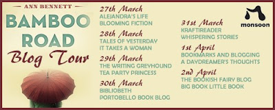 guest-post, bamboo-trilogy, ann-bennett, books, writer, writing, author, blog-tour, the-writing-greyhound