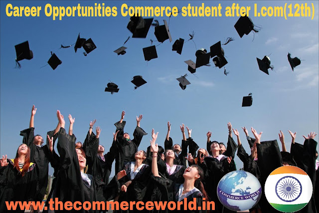 Career Opportunities Commerce student after I.com(12th)