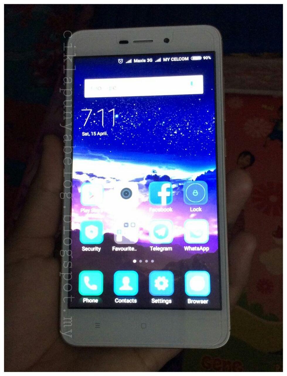 Bestnya smartphone Xioami Redmi 4A.