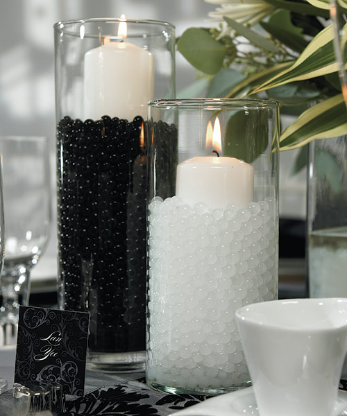 My Wedding Favors Etc: Black And White Wedding Theme-Black