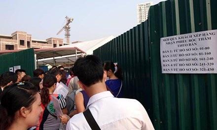 Bốc thăm mua nhà ở Xã Hội Minh Khai