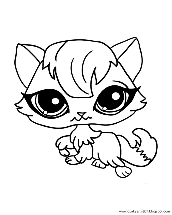 free printable lps coloring pages - photo#15