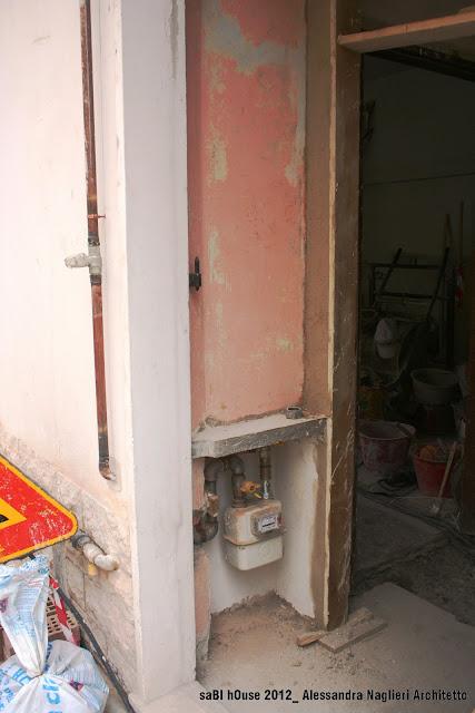 ingresso nicchia contatore entrance counter alcove
