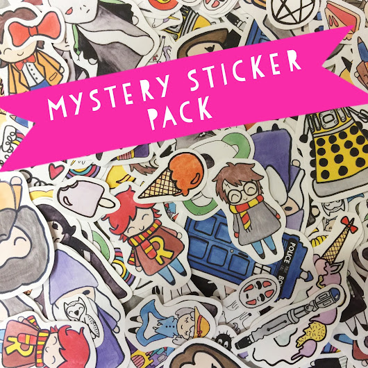 Mystery Sticker Packs Are Here!