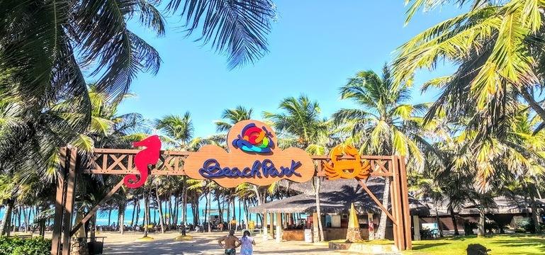 Van transfer beach park