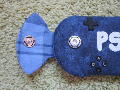 funda consola, videogames case, costura, couture, sewing, enveloppe console de jeu