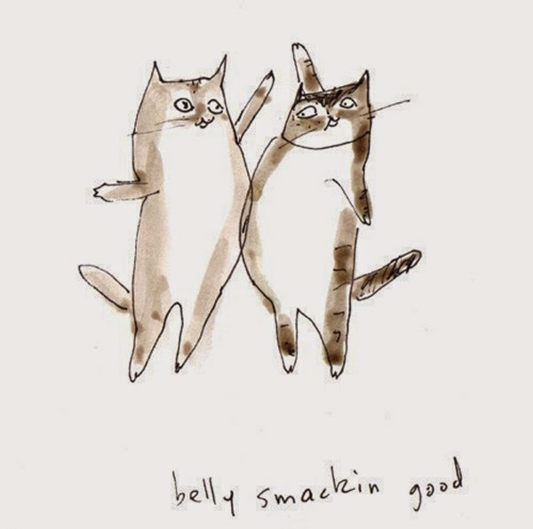 The Dancing Cat - awesome cat illustrations by Jamie Shelman