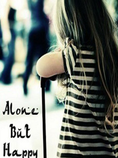 WallPapers: Alone But Happy