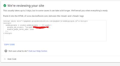 Cara Mendaftar Google Adsense Melalui Blog