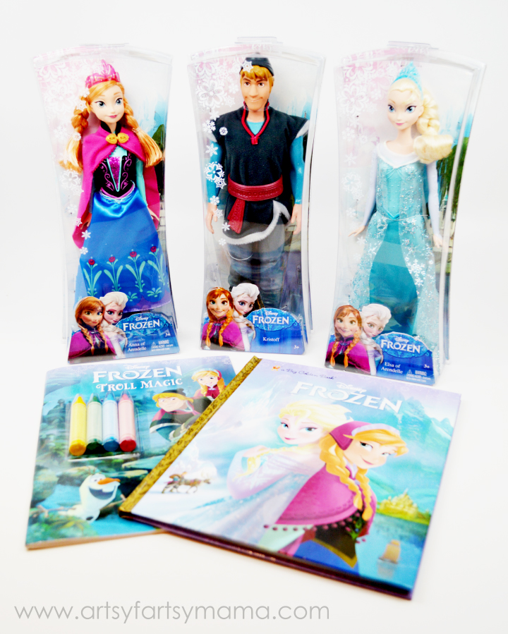 Disney FROZEN Toys now at Walmart on artsyfartsymama.com #FrozenFun #shop #cbias