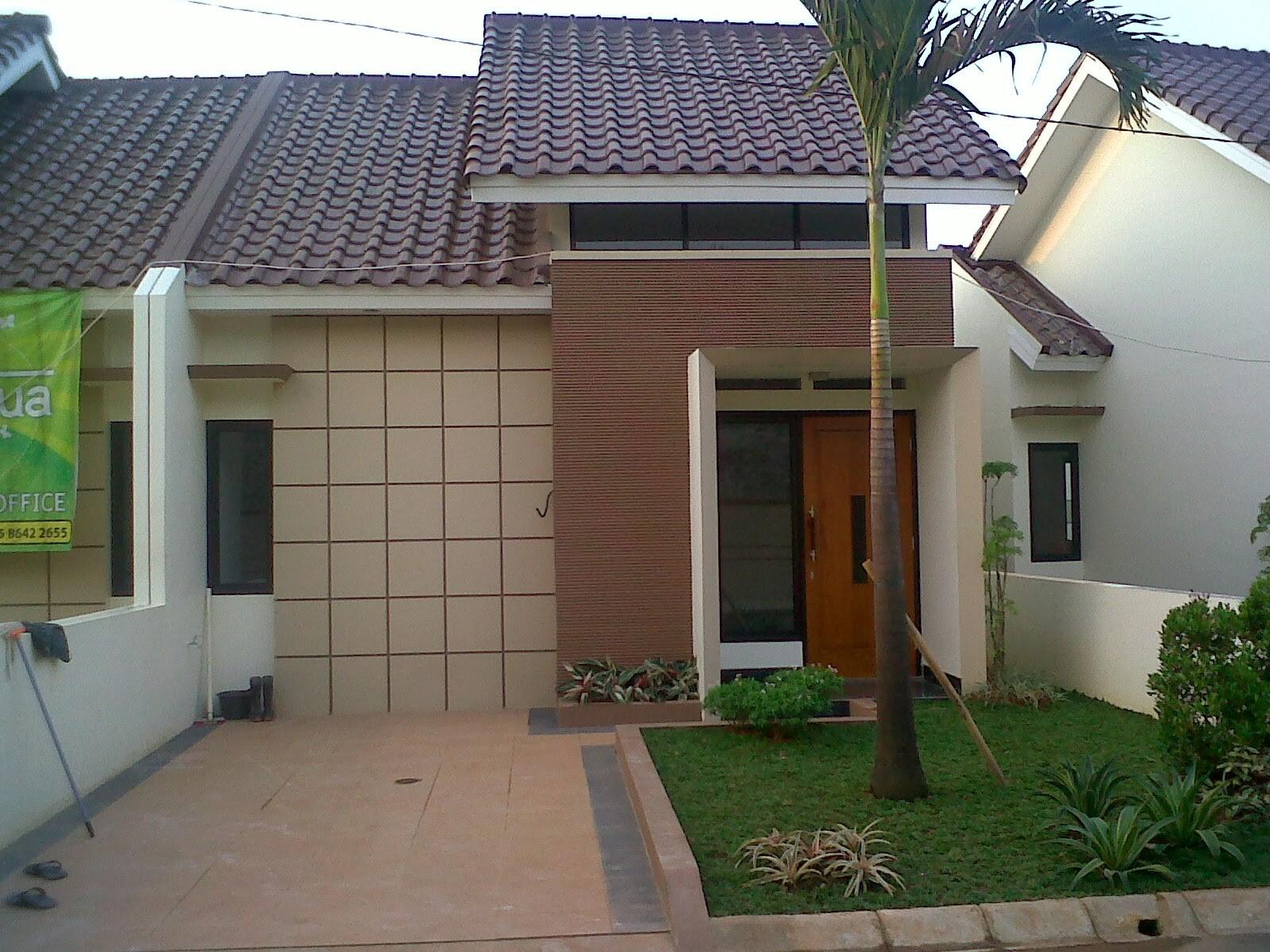 model rumah cluster 5