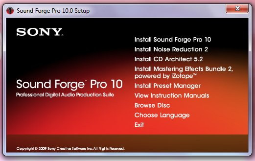 how much is Sound Forge 10?
