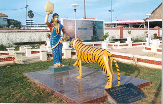The Ancient Tamil Lady who drove out the Tiger just with a winnow