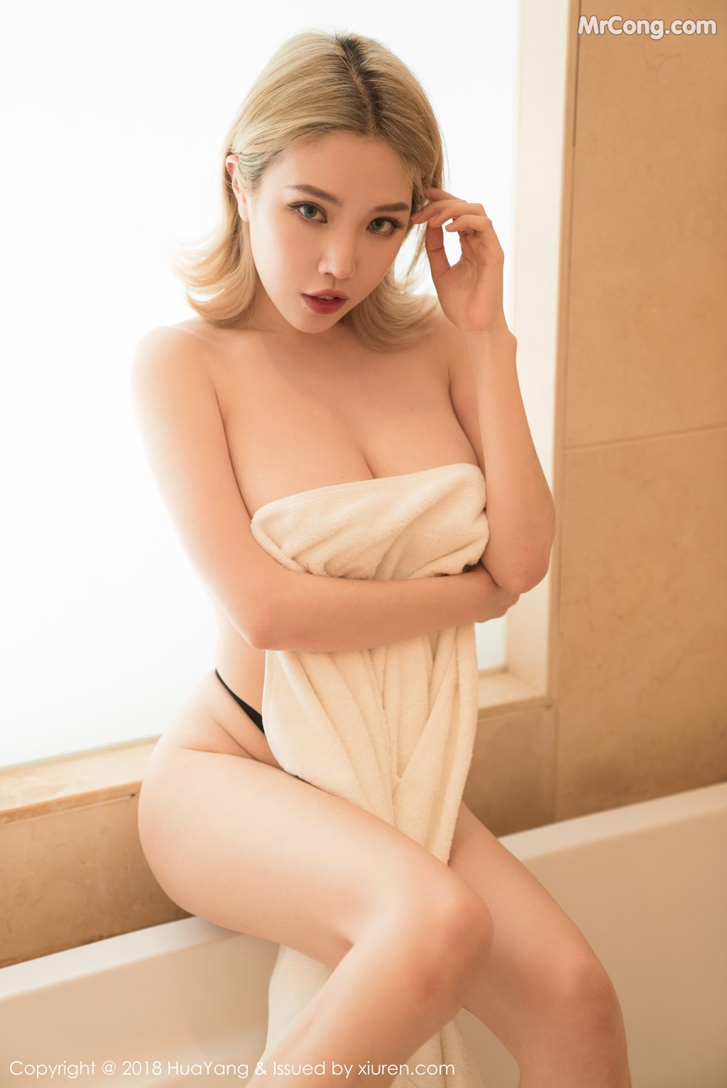 Image HuaYang-2018-08-22-Vol.074-Huang-Le-Ran-MrCong.com-009 in post HuaYang 2018-08-22 Vol.074: Người mẫu Huang Le Ran (黄楽然) (48 ảnh)