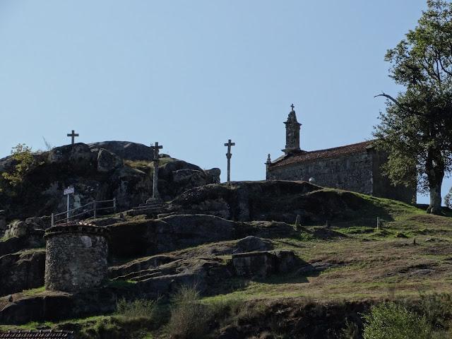 Capilla de San Lourenzo de Sarrapio en Cerdedo