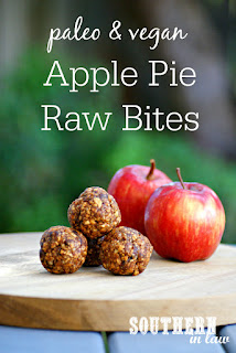 No Bake Apple Pie Bliss Balls Recipe