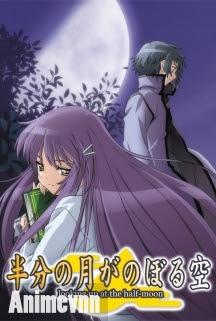Hanbun no Tsuki ga Noboru Sora - Hantsuki 2011 Poster