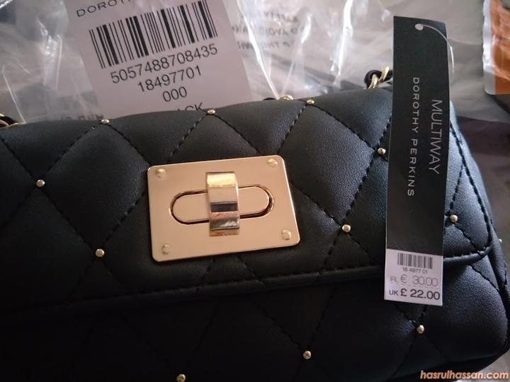 Beli beg tangan Dorothy Perkins dari U.K secara Online