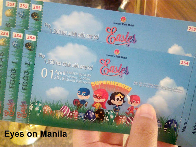 Century Park Hotel Manila : Easter Party 2018