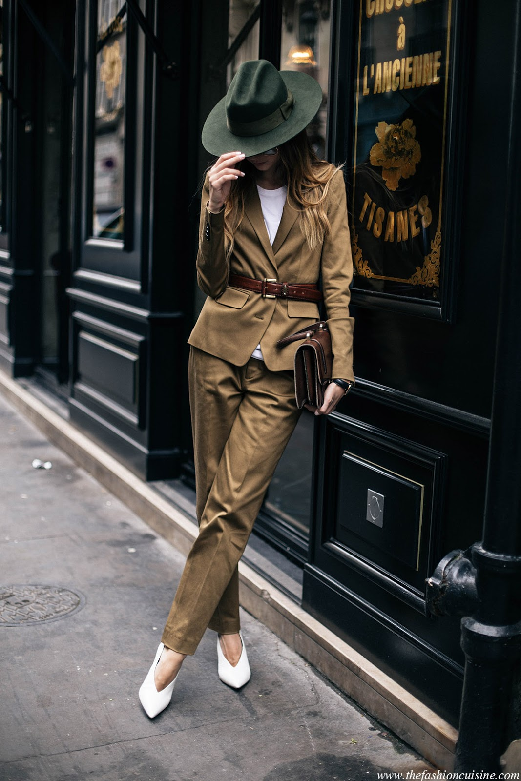 Masculine clothing for women